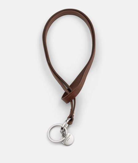 Leather key chain from liebeskind