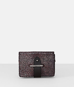 Belt wallet in a shimmery look from liebeskind