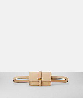 Belt wallet with snap clasp from liebeskind