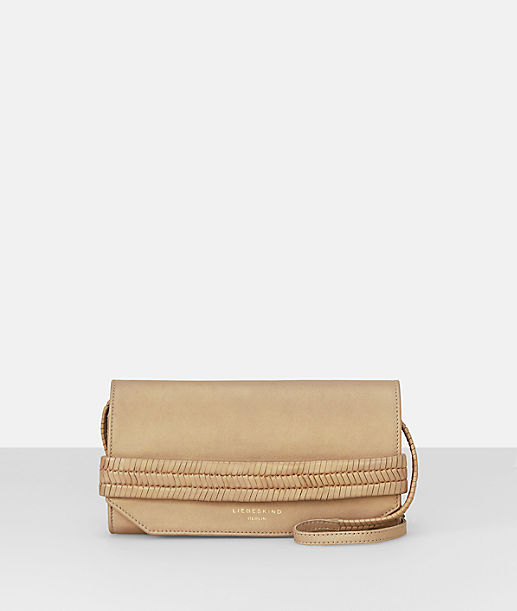 Clutch with a shoulder strap from liebeskind
