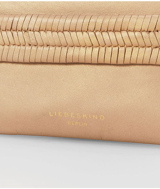 Clutch with a shimmer from liebeskind