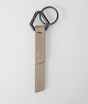 Soft leather key ring from liebeskind