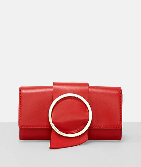 B Wallet purse in an elegant clutch design from liebeskind