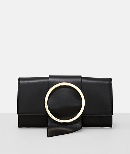 B Wallet purse in an elegant clutch design from liebeskind