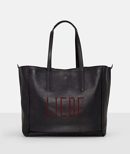 Handtasche mit Lochprägung