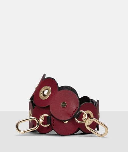 Shoulder strap in leather from liebeskind