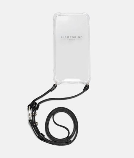 Smartphone-Hülle mit Ledergurt