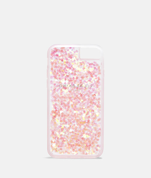 Flexible mobile phone case with glitter from liebeskind