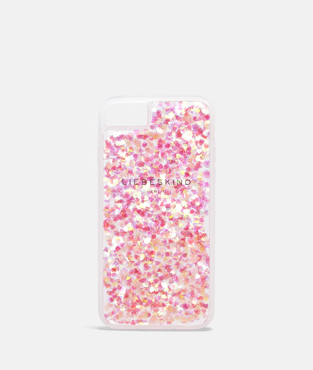Flexible Handyhülle mit Glitter