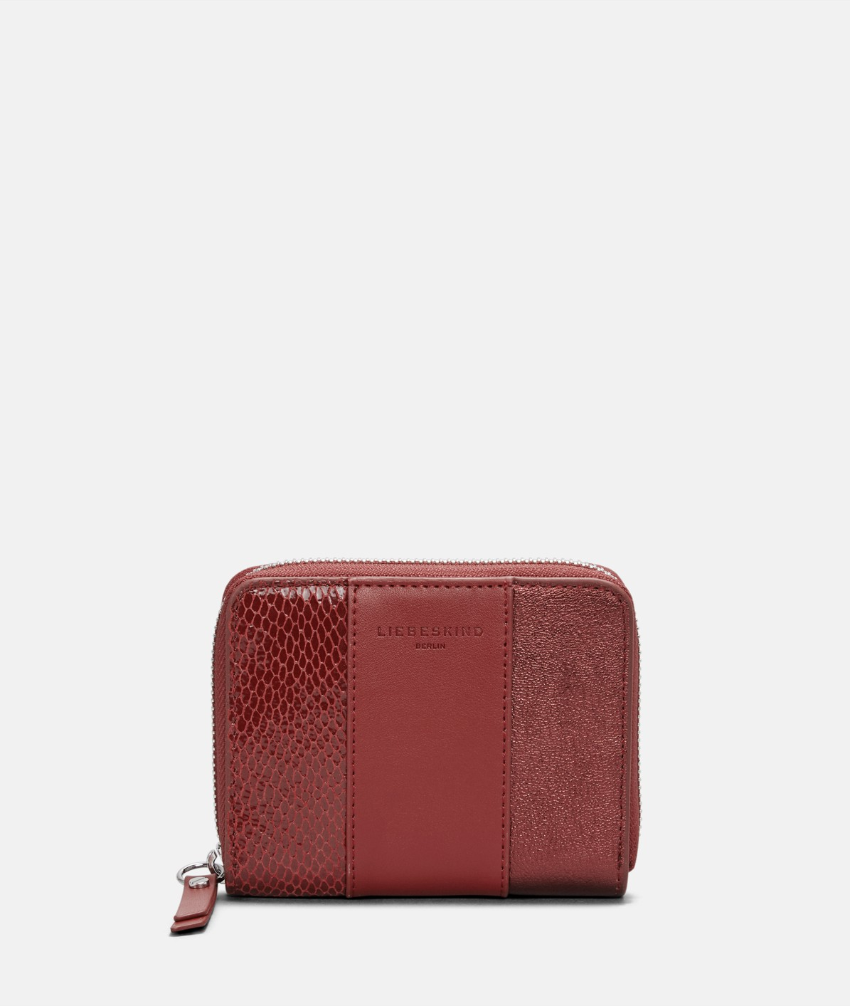 Leather mix wallet from liebeskind
