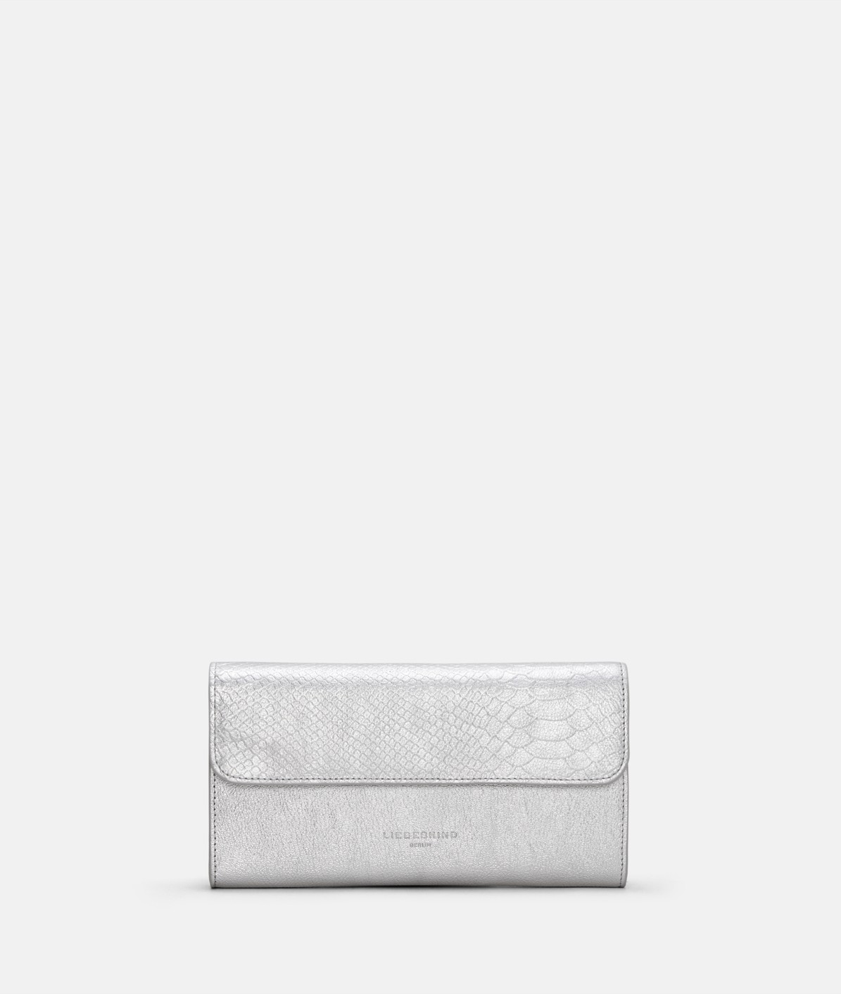 Clutch bag with snakeskin embossing from liebeskind