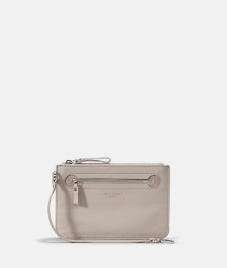 Flat make-up bag in leather from liebeskind