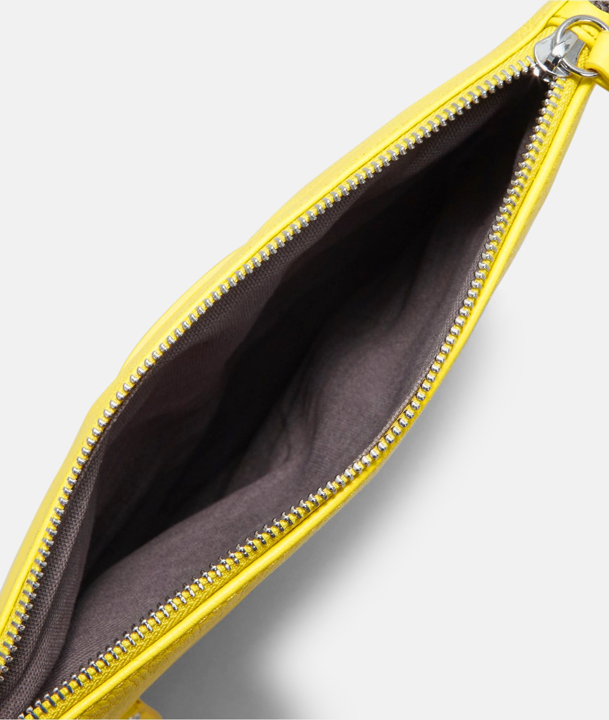Folded clutch bag in soft leather from liebeskind