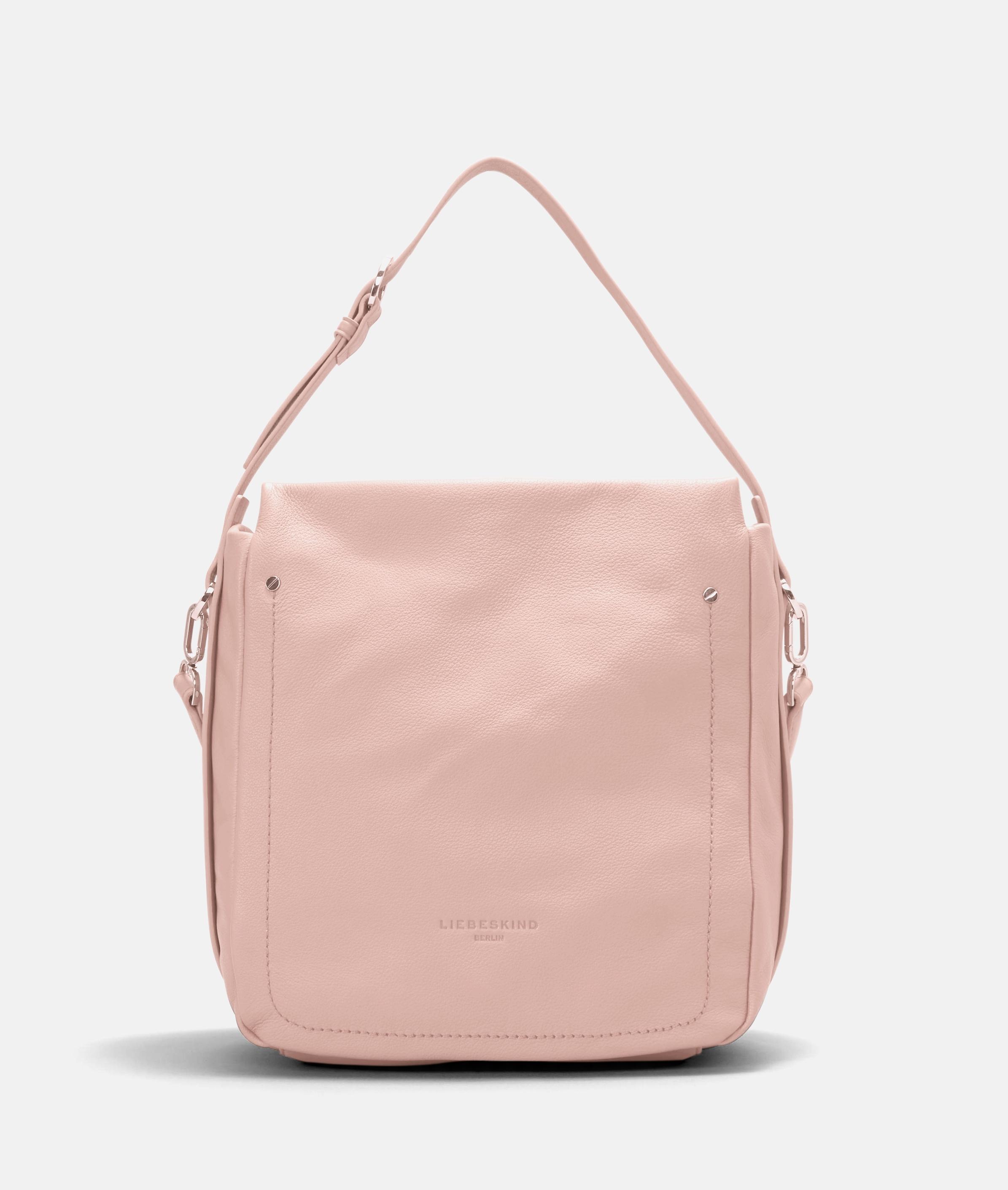 Berlin Tasche Stud Strap Hobo M, Pink