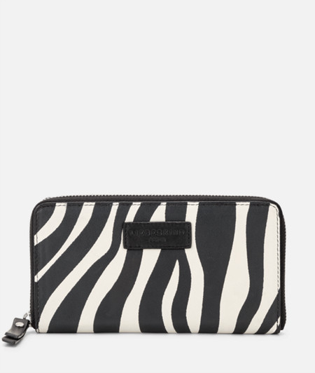 Purse with a zebra pattern from liebeskind