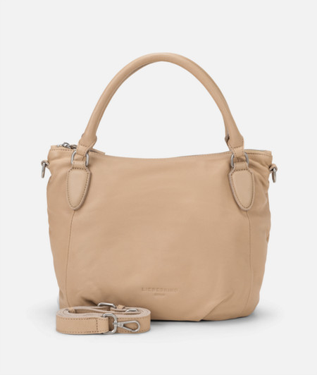 Soft leather handbag from liebeskind