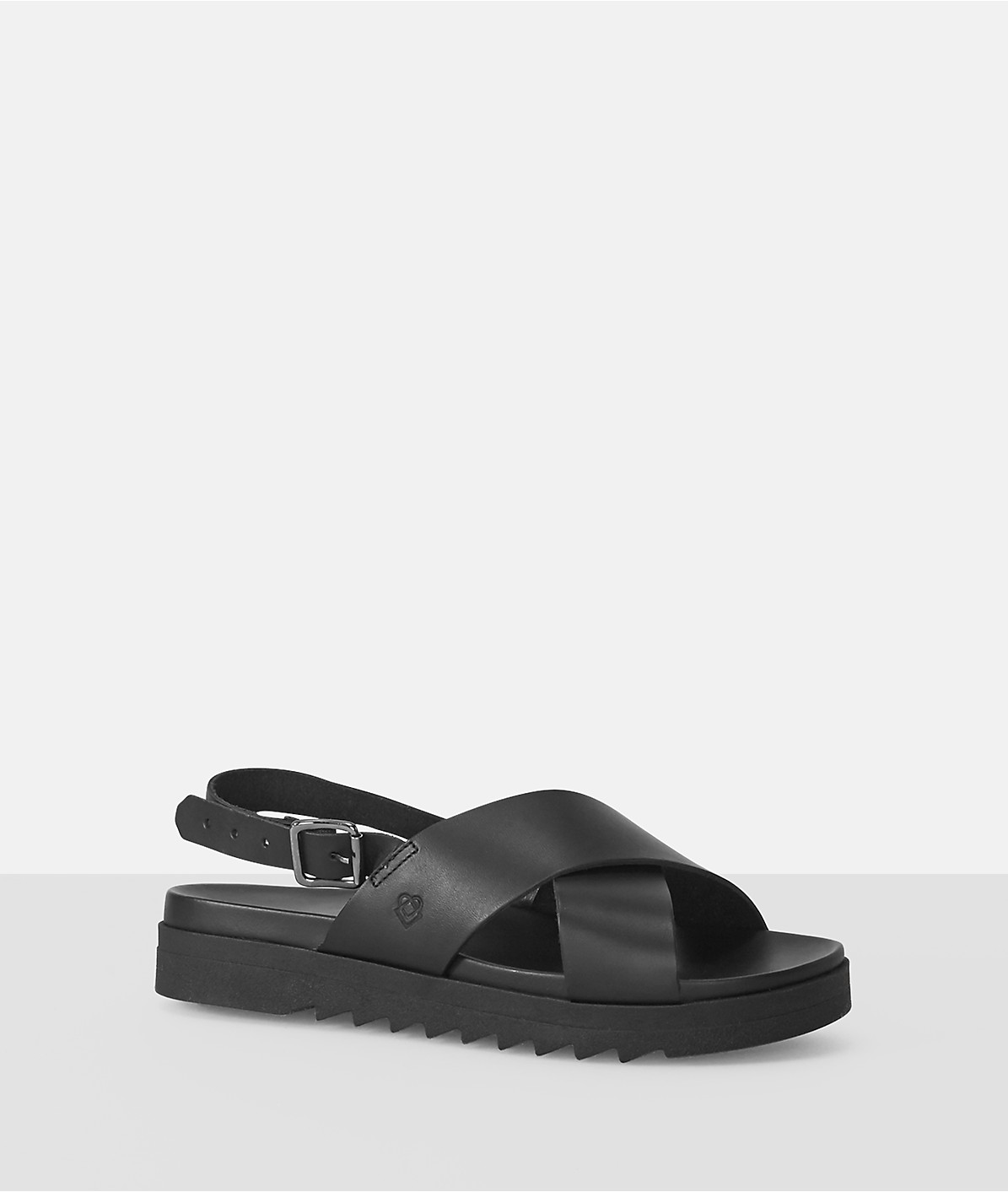 Chunky sandals with a footbed from liebeskind