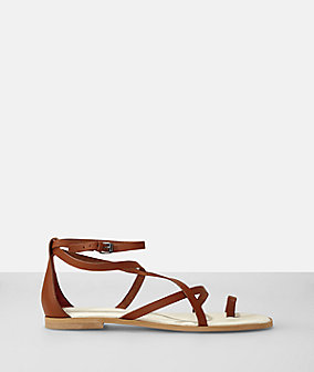 Sling-back sandals from liebeskind