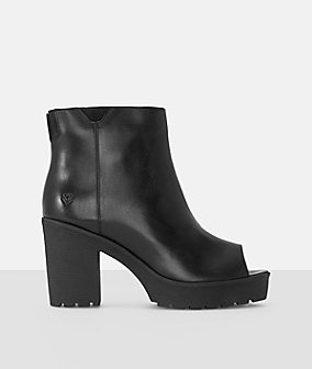 Peep-toe booties from liebeskind