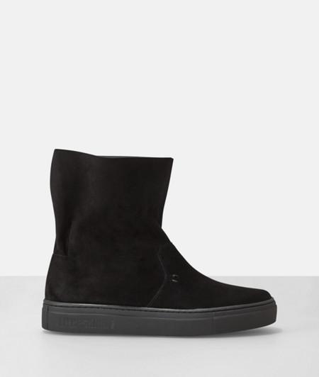 Sneaker-Boots mit weichem Schaft