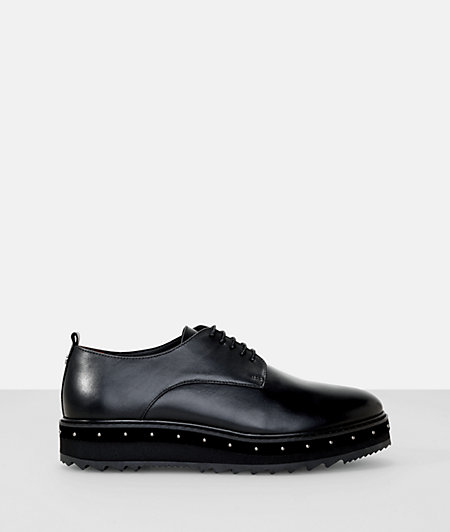 Platform leather oxford from liebeskind