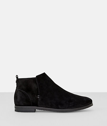 Suede leather soft casual bootie from liebeskind