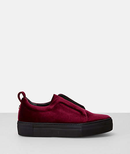 Velvet-look slip-ons from liebeskind