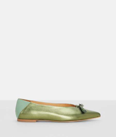 Slip-ons with a metallic effect from liebeskind
