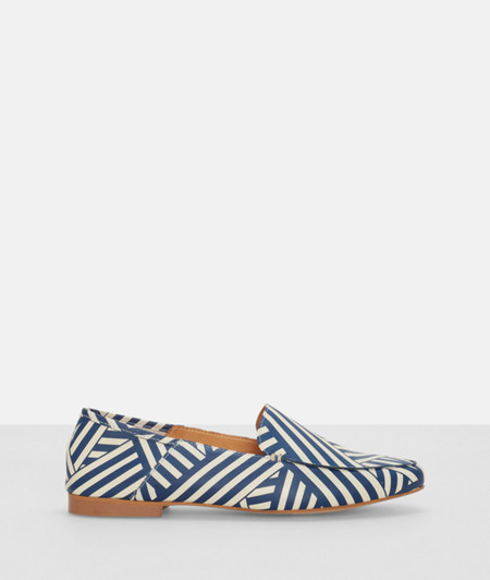 Loafer im Streifendesign