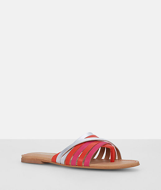 Toe post sandals with bright straps from liebeskind