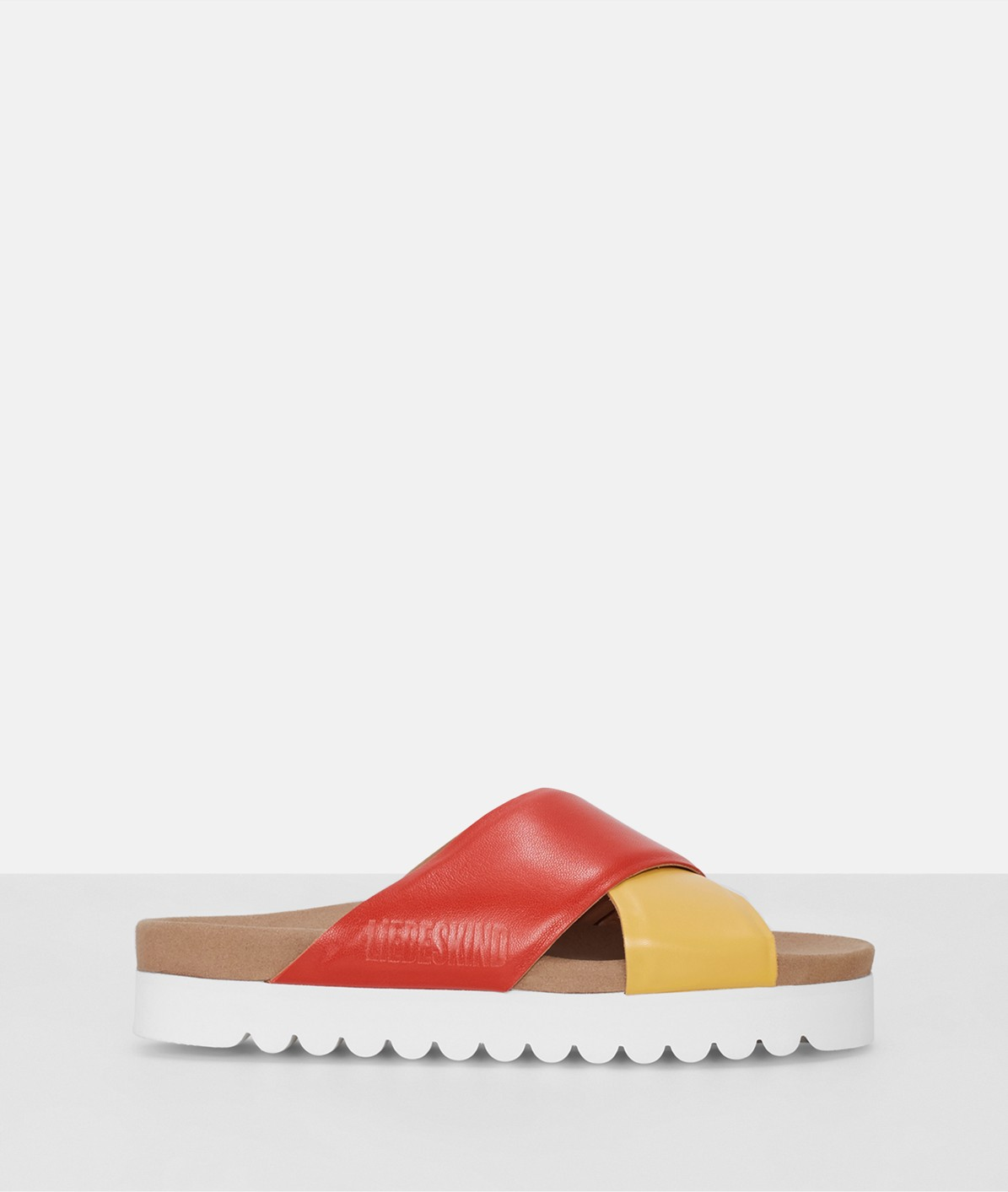Sandals with a platform sole from liebeskind
