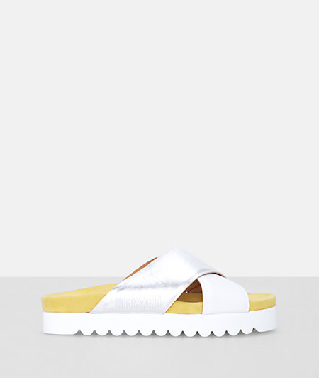 Sandals with a platform heel from liebeskind