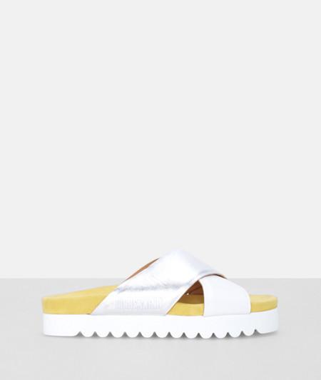 Sandals with a platform heel from liebeskind