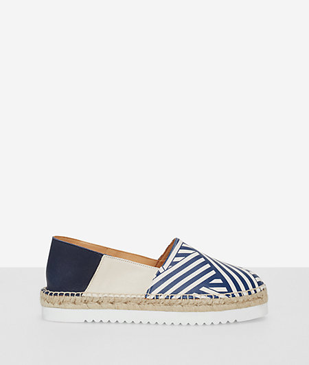 Espadrilles with a block heel from liebeskind