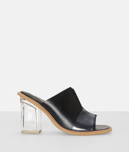Peep toes in a layered design from liebeskind