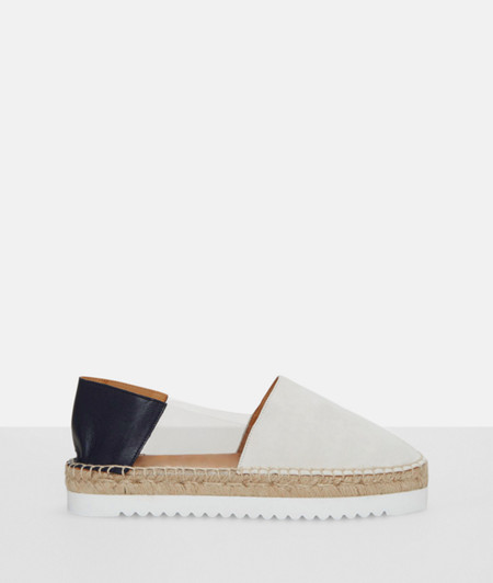 Espadrilles in a colour block style from liebeskind