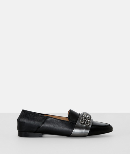 Loafers with gemstones from liebeskind