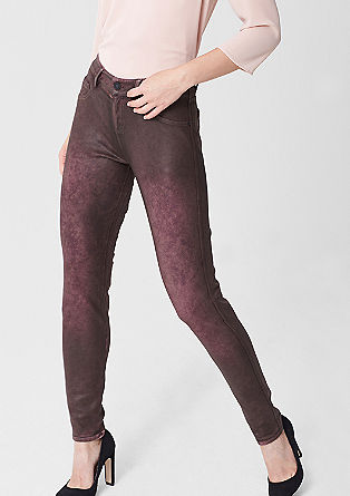 Jeggings: denim-look tracksuit bottoms from s.Oliver