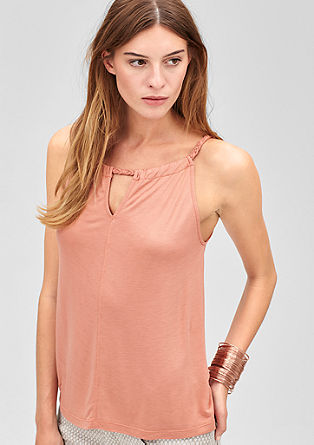 Top with braided straps from s.Oliver