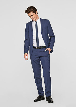 Slim: stretch suit from s.Oliver