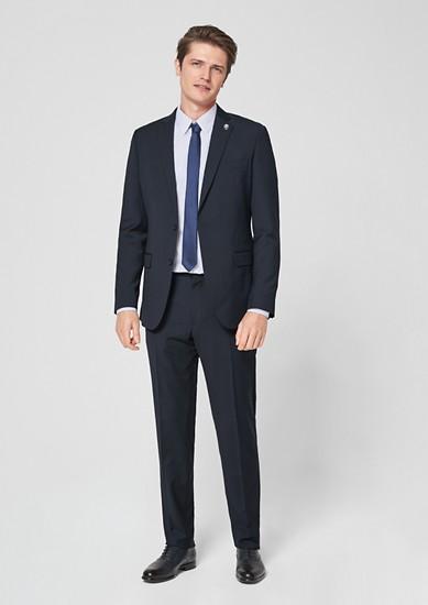 Regular: kostuum met krijtstrepen