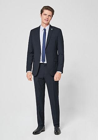 Regular: Nadelstreifen-Anzug
