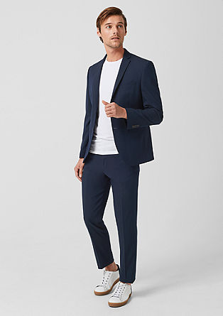 Slim: business suit from s.Oliver