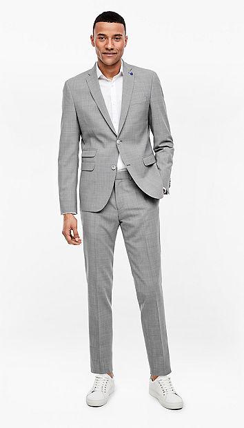 Slim: kostuum van een scheerwolmix