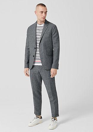 Slim: obleka ze směsi se lnem