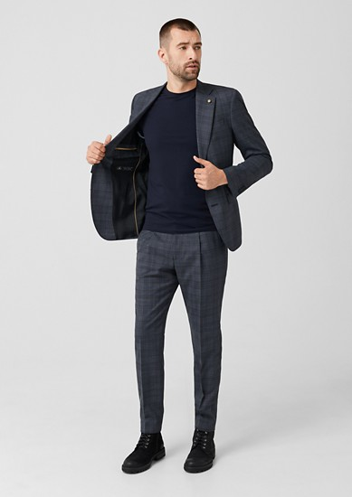 Limited Edition obleka z vzorcem glencheck