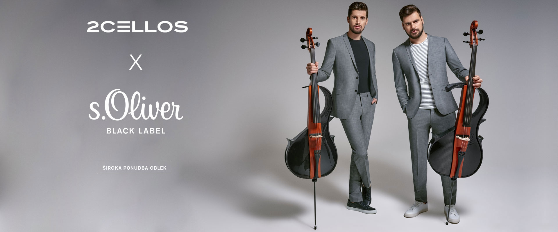 2CELLOS | s.Oliver Shop